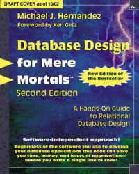 Database Design For Mere Mortals - Michael J. Hernandez - Second Edition