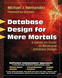 Database Design For Mere Mortals - Michael J. Hernandez