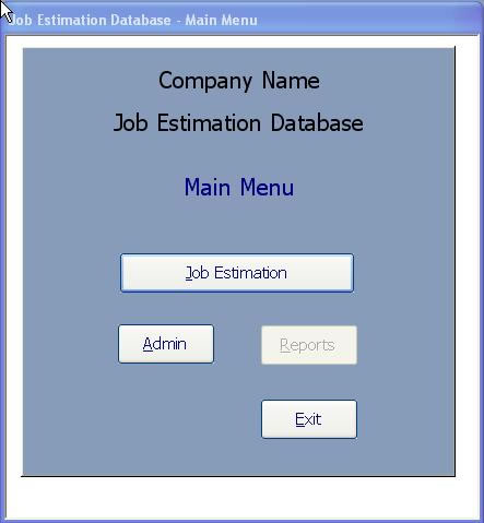 sample access database